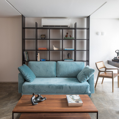 Sala de estar ampliada