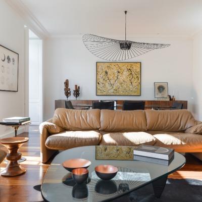 Sala de estar e zona de refeições