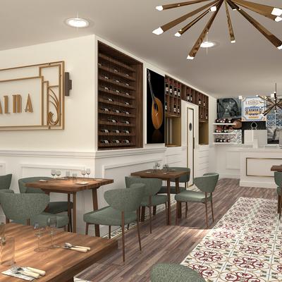 Restaurante Alma em Versailles