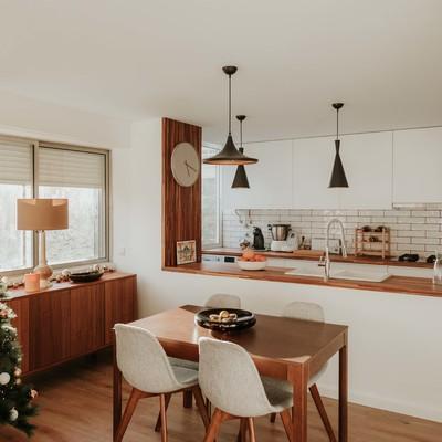 Sala de Jantar + Cozinha