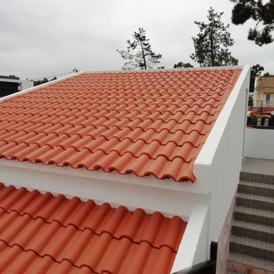 Reconstrução de telhado