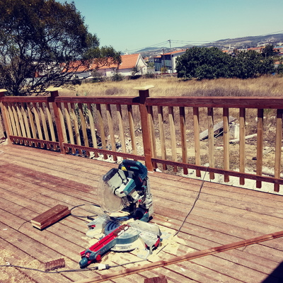 Construção deck
