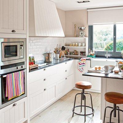 Uma cozinha em que se sente aprisionado