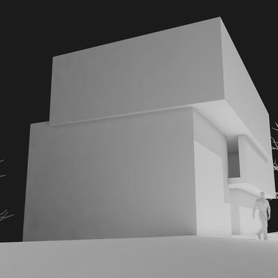 Estudo Prévio de Edificio de Habitação Colectiva - Loures