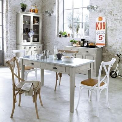 Móveis, bancadas e mesas de zinco