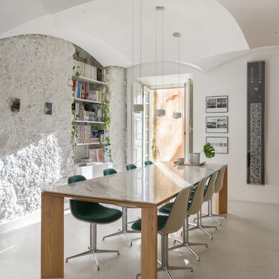 Zona de reunião e pesquisa