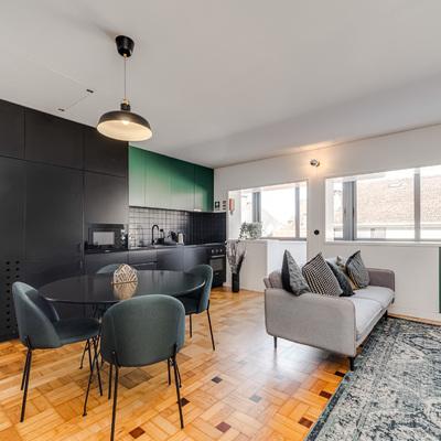 Apartamento Cabo Borges (Decoração de Interiores)