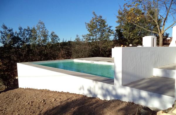 Foto piscina 8 x 4 sobrelevada de madeinblue lda 19896 for Piscina 8 metri x 4