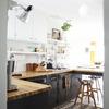 Pintar moveis de madeira da cozinha