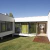 Casa em Almalaguês - ligação entre salão e jardim