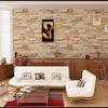Transformar terraço em sala e forrar paredes com pedra decorativa