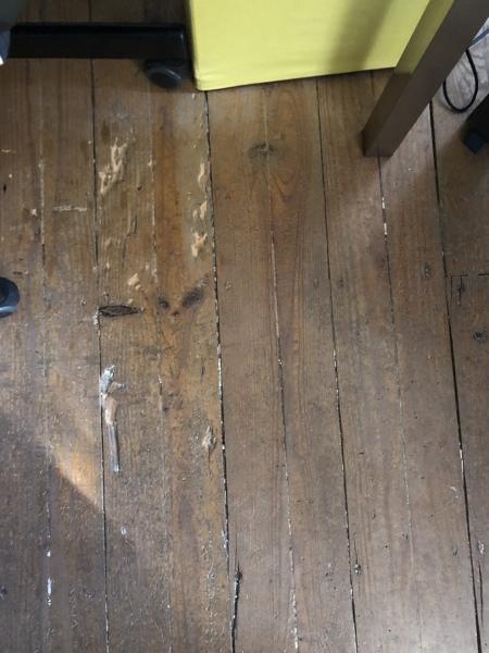 Gostaria de saber quanto custaria e quais os timmings para arranjar chão de madeira antigo