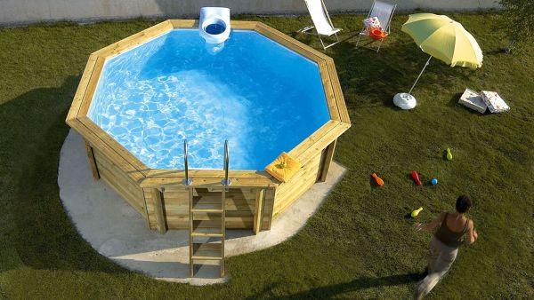 Detalhes sobre dimensão, litros e preço de piscina