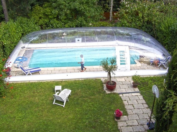 Qual o preço de cobertura para uma piscina rústica?