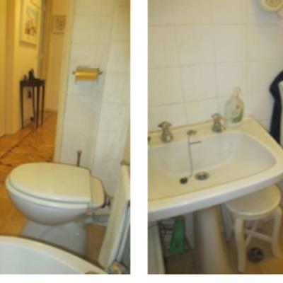 Remodelar casa de banho muito pequena em apartamento for Remodelar casa pequena
