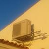 Desmontagem da unidade interior aparelho ar condicionado split para montagem noutra divisão da casa (marca zantia)