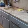 Substituição portas armário cozinha