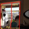 Fechar marquise interior em vidro simples + 1 porta de vidro
