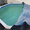 Substituição de liner de piscina