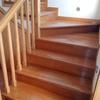 Envernizar escadas e acertar portas