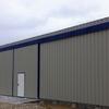 Construção de armazém metálico/agricola