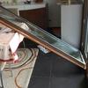 Reparar janela c/ substituição de vidro