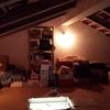 Isolamento de telhado em sótão.