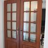 Orçamento para colocação de portas duplas em hall/corredor com suporte de parede em pladur