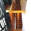 Guardas de escadas e varandas (interiores - mezanino)