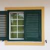 Orcamento portadas de aluminio verde exterirores lamina movel